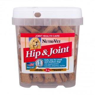 Nutri-Vet Hip & Joint Level 1 Lamb & Rice Wafers