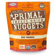 Primal Freeze Dried Canine Beef 14oz