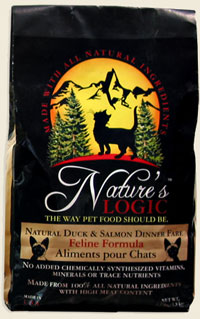Nature's Logic Feline Duck & Salmon Dry kibble