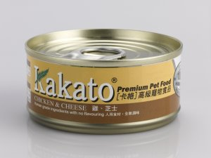 Kakato Chicken & Cheese Canned Food (70g)