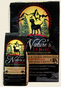 Nature's Logic Canine Dry Duck & Salmon 26.5lb